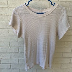 free people thermal t-shirt